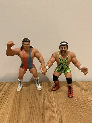 £32.99 • Buy WCW:  The Steiner Brothers  Scott & Rick - Rare Wrestling Figures Galoob 1991