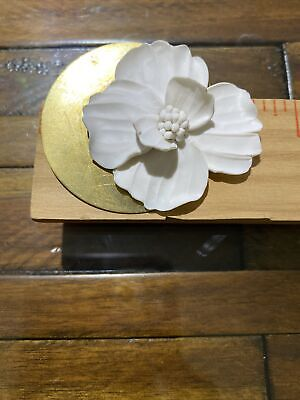 $ CDN31.33 • Buy Kate Spade New York Large Flower Earrings White And Gold