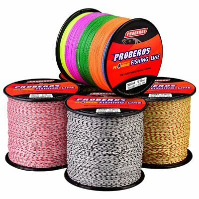 AU11.39 • Buy 300M 4 Strands Fishing Line PE Spectra Braided Lines For Saltwater/Freshwater