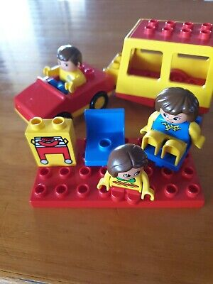 AU25 • Buy Duplo Car, Caravan And Camping Family. Great Preloved Condition