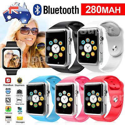 AU14.85 • Buy Bluetooth Smart Wrist Watch A1 GSM Phone For Android Samsung IPhone Man Women AU