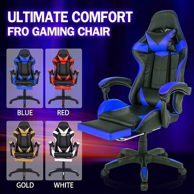 AU109 • Buy Gaming Chair Office Chair Computer Executive Chairs Seating Racing Racer
