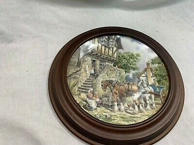£5.99 • Buy Wedgwood Life On The Farm Morning In The Farmyard Ltd Edition Collectors Plate