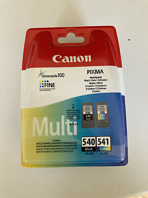 Canon PG-540/CL-541 Ink Cartridge Multipack - Black, Cyan, Magenta, Yellow... • 22.15£