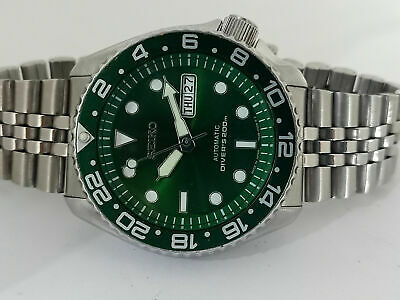 $ CDN163.74 • Buy Seiko Diver Green Sunburst Mod 7s26-0020 Skx007 Automatic Men Watch Sn. 890689