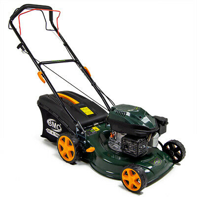 "View Details Petrol Lawn Mower Self Propelled BMC 17"" 43cm 127cc Wolf Engine Lawnmower • 199.99£"