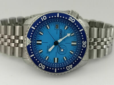 $ CDN72.39 • Buy Prodiver Blue Modded Seiko Diver 7002-7000 Automatic Men's Watch 450777