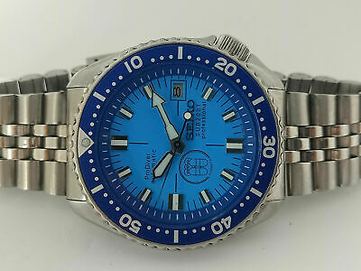 $ CDN49.98 • Buy Vintage Prodiver Blue Modded Seiko Diver 7002-7000 Automatic Men's Watch 350145