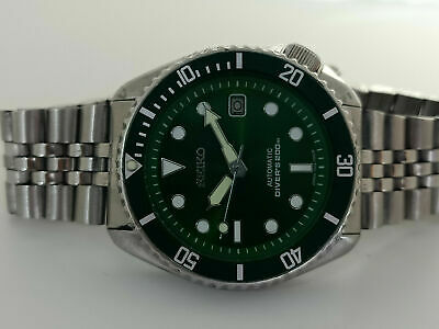 $ CDN31.02 • Buy Vintage Green Sunburst Mod Seiko Diver 7002-7000 Automatic Men's Watch Sn 071241