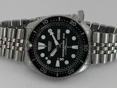 $ CDN63.34 • Buy Vintage Seiko Diver 6309-729a Scubapro Mod Automatic Mens Watch 660x14
