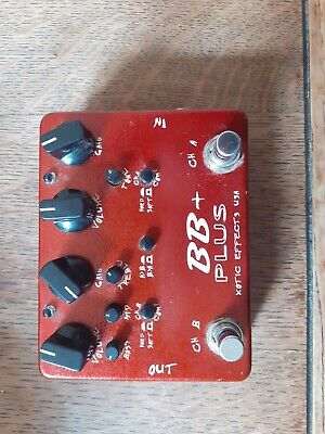 Xotic Bb Plus Overdrive/boost/distortion • 90£