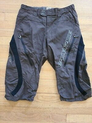 $30 • Buy RaceFace Mens SZ SMALL Brown Cycling Shorts Knickers