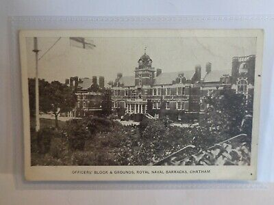 £3.75 • Buy Officers Block & Grounds, Royal Navy Barracks, Chatham - Gale & Polden - Printed