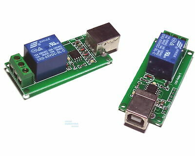 £5.30 • Buy 5V USB Relay 1 Channel Programmable Computer Control For Smart Home