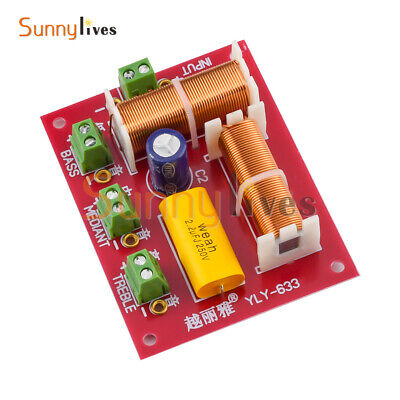 AU9.49 • Buy 3 Way 2 Unit High-Low Audio Speaker Frequency Divider Crossover Filter Ajustable