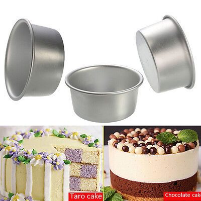 AU19.29 • Buy 4/5/6/7/8 Inch Cake Mold Round DIY Cakes Pastry Mould Baking Tin Pan  Ch
