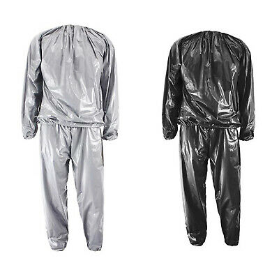 AU15.99 • Buy Heavy Duty Fitness Weight Loss Sweat Sauna Suit Exercise Gym Anti-Rip L3F4