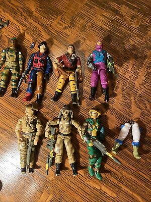 $ CDN38.92 • Buy Custom Parts Vintage GI Joe 1987 Hasbro Action Figure G.I. Joe Lot