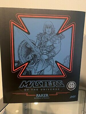 $440 • Buy EXCLUSIVE Mondo Masters Of The Universe Faker Action Figure 1/6 Scale  Rare