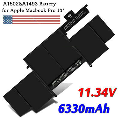 $38.49 • Buy A1502 Battery For Apple MacBook Pro 13 Inch Retina A1502 (2013-2015) A1493 ME864
