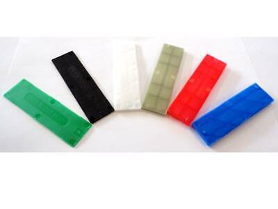 28mm Window Glazing Glass Packers Spacers Shims Floor Flat Plastic Mixed Packs  • 3.79£