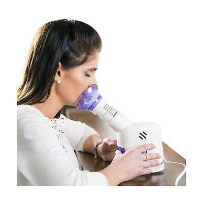 $38.16 • Buy Personal Facial Steam Inhaler & Vaporizer /Aromatherapy Diffuser Soft Face Mask