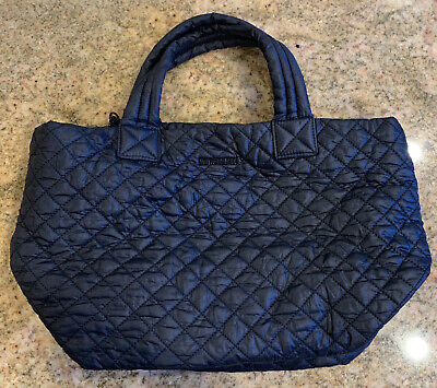 AU176.97 • Buy MZ Wallace Metro Tote Black EUC Dual Strap EUC Zip Closure