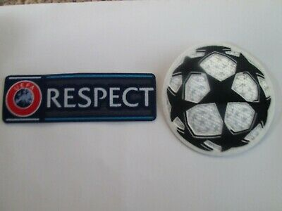 £4.99 • Buy Starball And Respect Champions League Patch Player Size  Iron On Heat Press