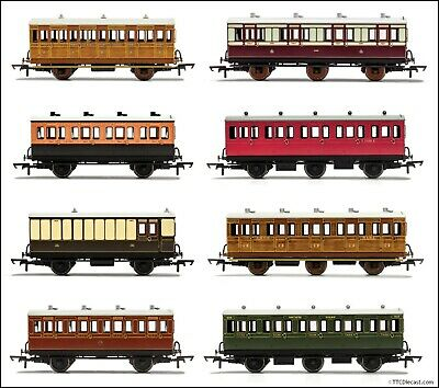£29.99 • Buy Hornby 4 & 6 Wheel Coaches, Various Liveries & Combinations Available. U Choose
