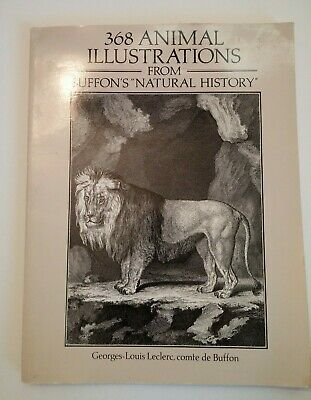 AU9.16 • Buy 368 Animal Illustrations (Dover Pictorial Archives), Buffon, Georges-Louis Lecle