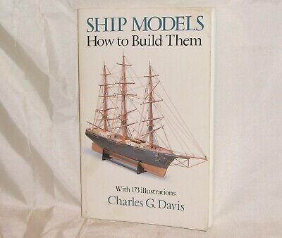 AU6.54 • Buy Dover Woodworking Ser.: Ship Models : How To Build Them By Charles G. Davis...