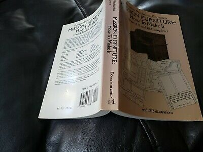 AU6.55 • Buy Dover Woodworking Ser.: Mission Furniture : How To Make It By Popular Mechanics