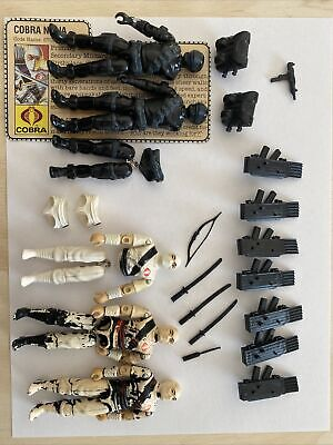 $ CDN123.02 • Buy GI Joe Vintage 1984 1985  Parts Hasbro Lot Accessories Storm Shadow Snake Eyes