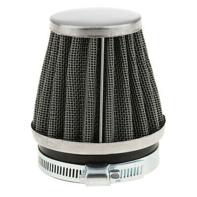 £4.50 • Buy Cone Cold Air Filter Intake Cleaner Inlet For Motorcycles - 60mm