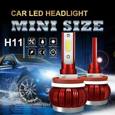 AU16.80 • Buy LED H11 H8 H9 Headlight Globe Kit 72W 172500LM Hi Lo Beam Conversion Bulb White