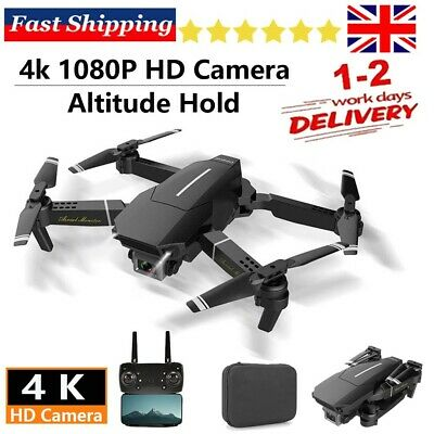 RC FPV Drone HD Camera Wifi FVP Foldable Selfie Quadcopter Altitude Mode Gift. • 23.88£