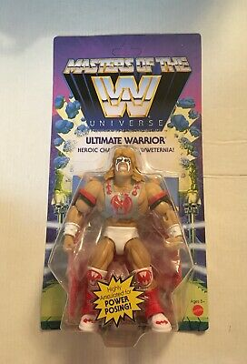 $34.99 • Buy WWE Masters Of The Universe Wave 6 Ultimate Warrior Figure NEW MOC MOTU In Hand