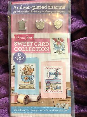 £1.99 • Buy Sweet Cards And Charms Cats Flowers Sewing Machine Cross Stitch Chart Book