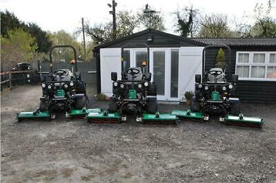£9295 • Buy 2016 Ransomes Highway 3 Triple Cylinder Ride On Mower 4WD
