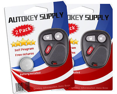$25.13 • Buy 2 Replacement For GMC Sierra 1500 2500 3500 HD 1999 2000 2001 Remote Keyless Fob