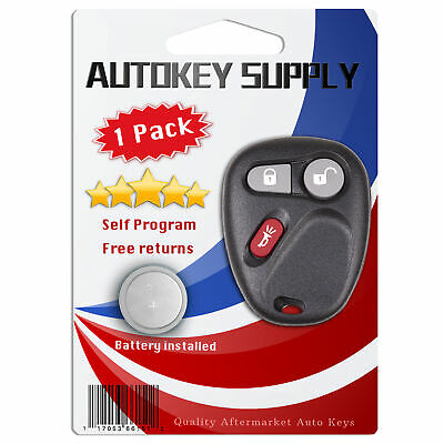 $15.24 • Buy Replacement For GMC Sierra 1500 2500 3500 HD 1999 2000 2001 Remote Keyless Fob