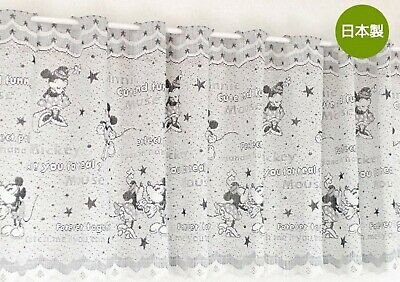 £16.32 • Buy Disney Mickey Minnie Mouse Polyester Half Cafe Curtain Home Kitchen Window Decor