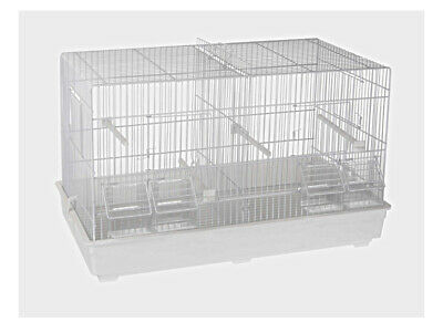£41.99 • Buy Double Breeding Cage 55cm Cage For Canary, Finch , Small Birds