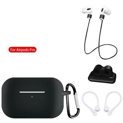 AU7.59 • Buy 5 In 1 Silicone Charging Case Strap & Cover Accessories For Apple AirPods Pro 3