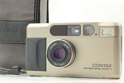 $ CDN1102.80 • Buy READ [NEAR MINT] CONTAX T2 D DATA Back 35mm Film Point & Shoot Camera Japan #K11