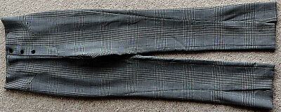 £7 • Buy Zara Dogtooth Check High Waisted Trousers Size Med New