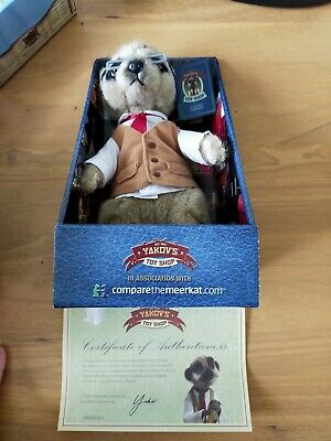 £10 • Buy Compare The Meerkat Toy Yakov Boxed With Certificate. FREE POST