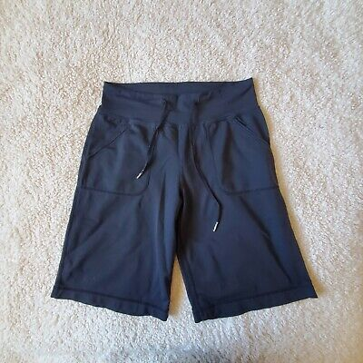 $ CDN30 • Buy Lululemon Shorts Drawstring Front Pockets High Rise Black Size 6 8 M 10  Inseam
