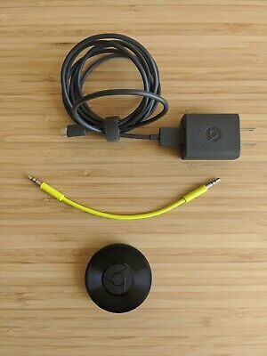 AU103.17 • Buy Google Chromecast Audio Media Streamer - Black