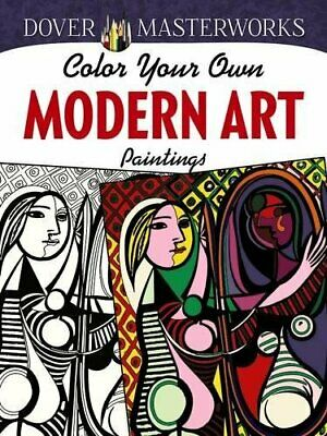 AU14.20 • Buy Dover Masterworks: Color Your Own Modern Art Pa... By Hendler, Muncie 0486780244